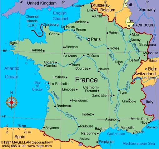 When you think of France, what first comes to mind?