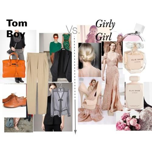 Girls, are you more of a tomboy or a girly girl?