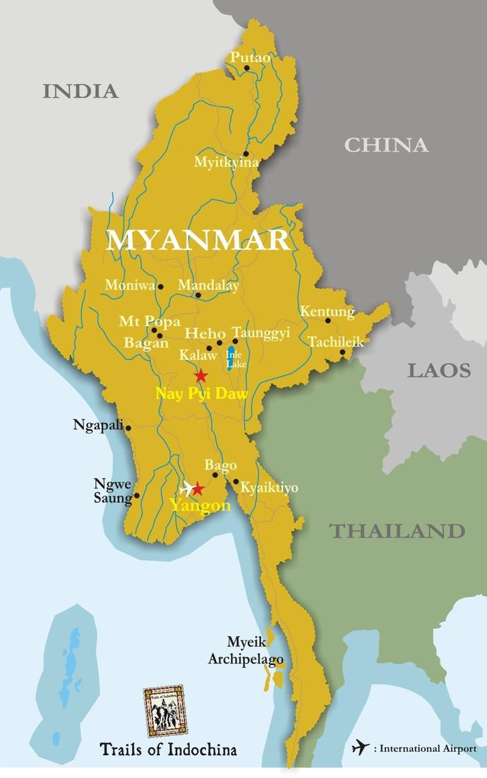 When you think of Myanmar, what first comes to mind?