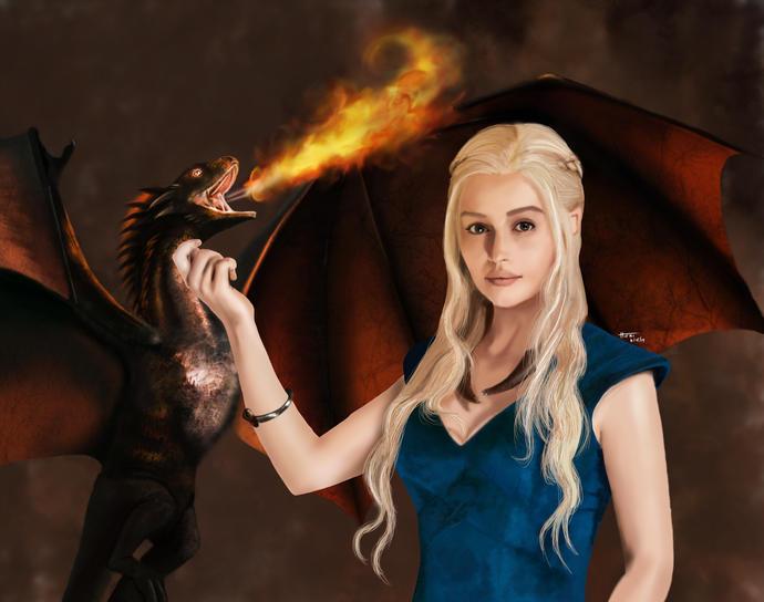 How many of you like Daenerys Targaryen?