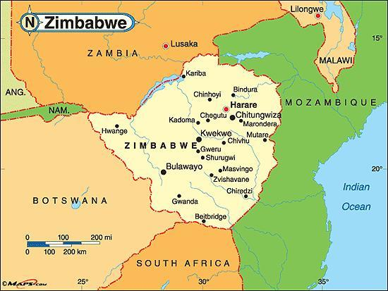 When you think of Zimbabwe, what first comes to mind?