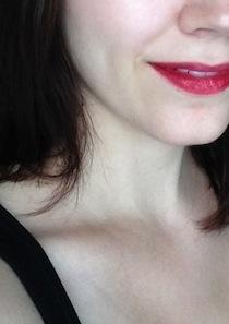Do I pull off this lipstick?