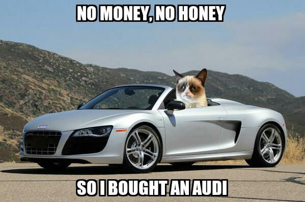 How do i look in my new car?