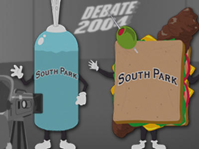 Who would you rather vote for giant douche or turd sandwich?