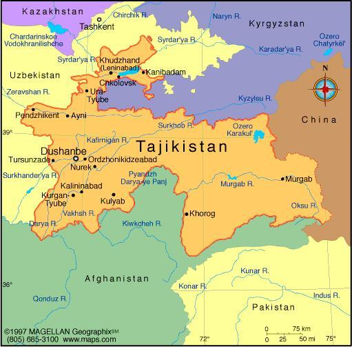 When you think of Tajikstan, what first comes to mind?