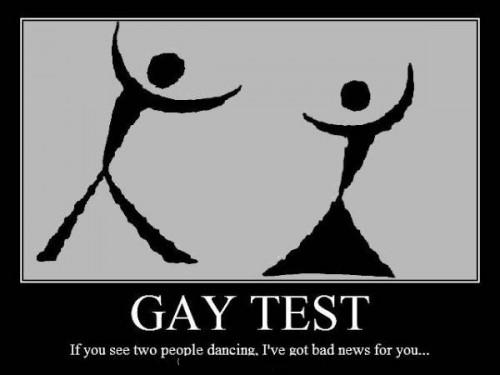 Just for fun! Gay test??