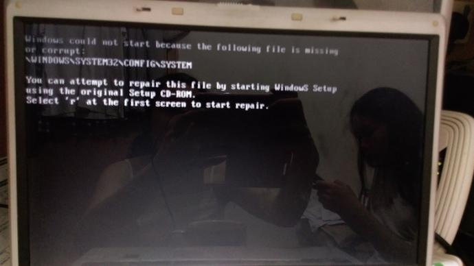 Windows system 32 corrupted!! Missing HDD?
