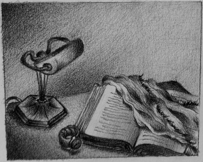 What do you think of this drawing? What comes to mind when you see it?