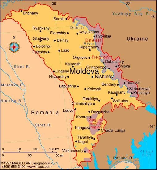 When you think of Moldova, what first comes to mind?