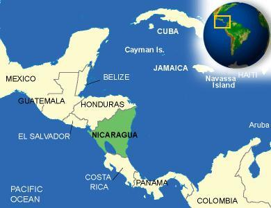 What's the first thing that comes into your mind whit: Nicaragua?