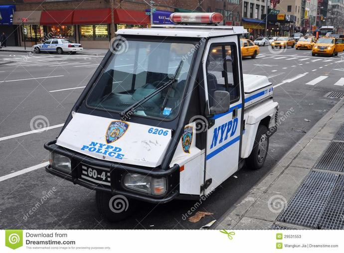 Anyone knows what the purpose of this tiny police cart?