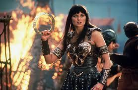 Who had a crush on Xena warrior princess?