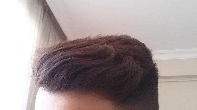How is my hair?