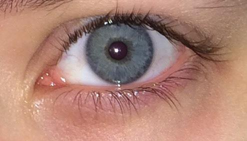 Do my eyes look blue or grey?