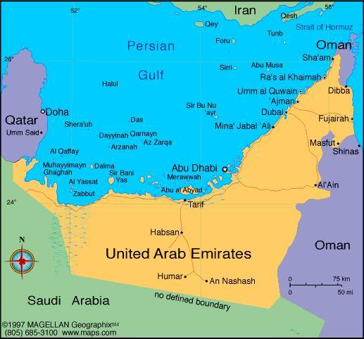 When you think of the United Arab Emirates, what first comes to mind?