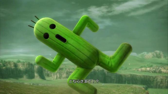 Do you girls think Cactuars are cute picture included?