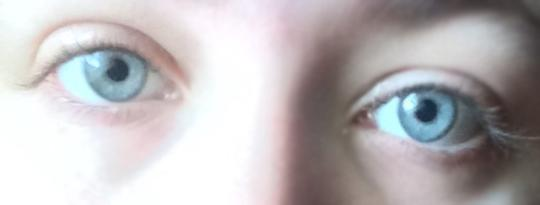 What color do my eyes look?