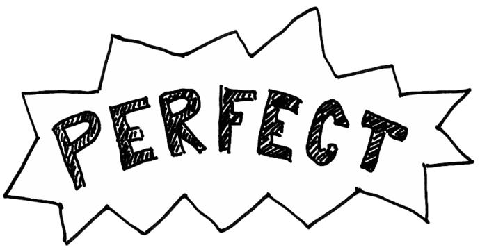 If there is nothing perfect?