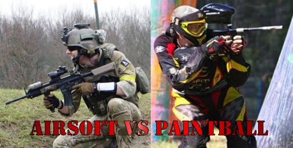 Airsoft vs Paintball?