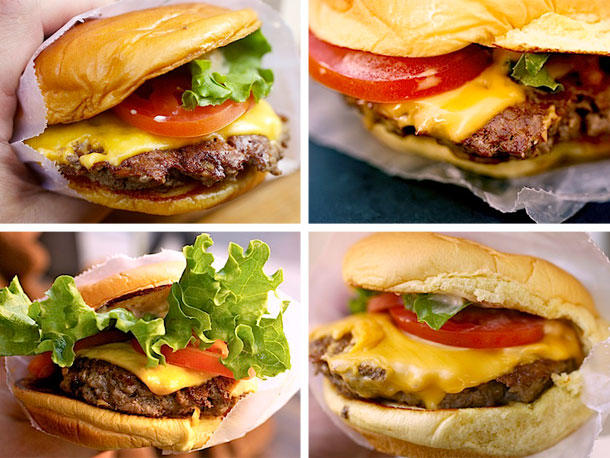 Who has the best burgers (excluding homemade)?