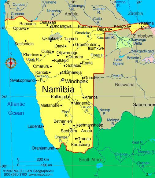 When you think of Namibia, what first comes to mind?