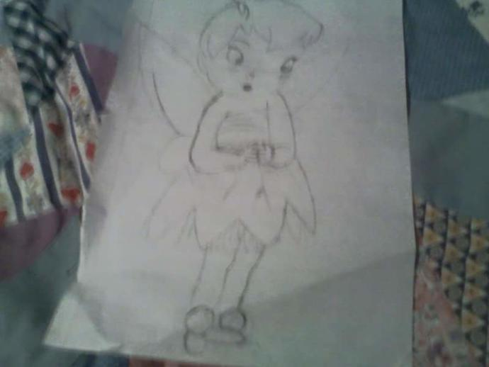 Is this a good drawling of Tinkerbell? Why or why not?