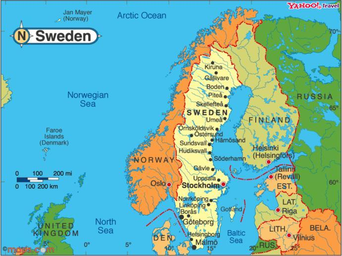 When you think of Sweden, what first comes to mind?