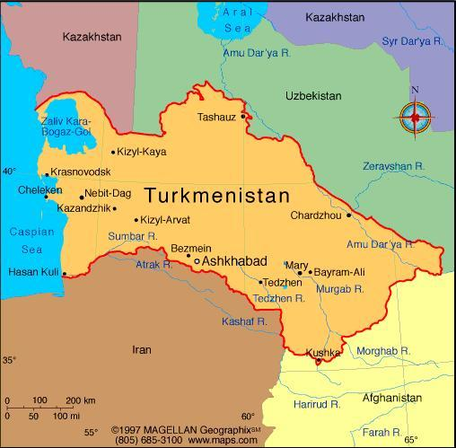 When you think of Turkmenistan, what first comes to mind?