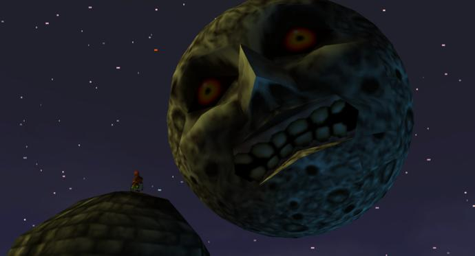 If there was the creepy moon from Legend of Zelda Majora's Mask existing in real life about to end the world, only giving you 3 days left to live?