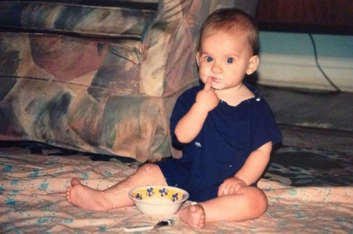Hey guys! Post your cutest baby picture?