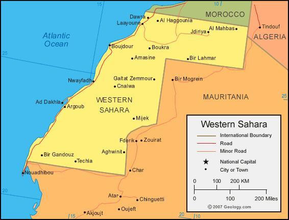 When you think of Western Sahara, what first comes to mind?