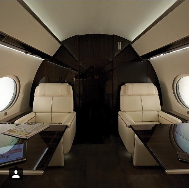 Do you think it's stupid when people are on private jets and post photos like this on social media?