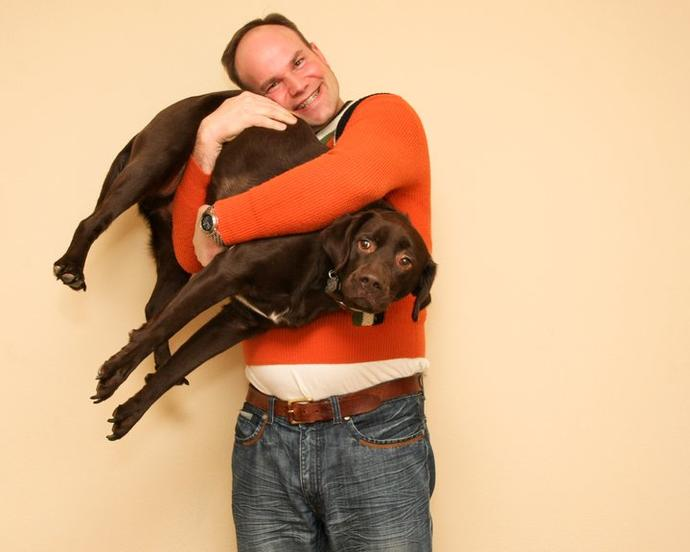 Do you cuddle with your pets?