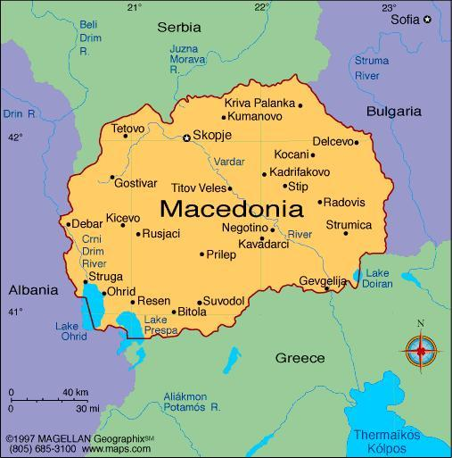When you think of Macedonia, what first comes to mind?