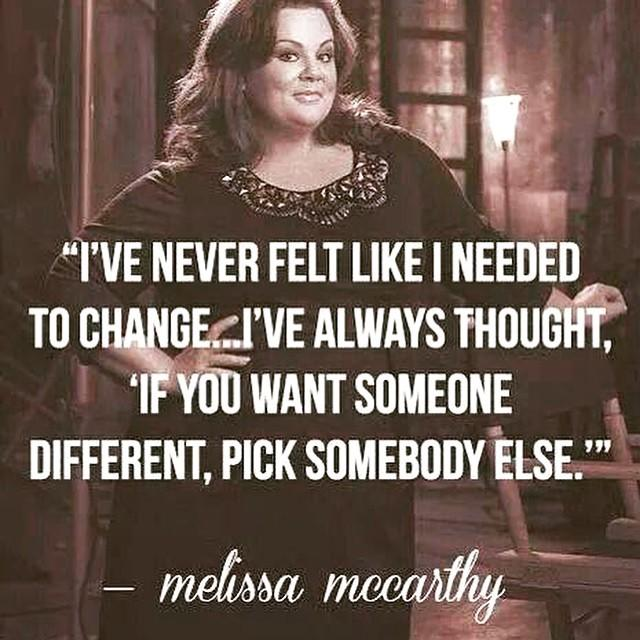 """""""If you want someone different, pick somebody else."""" Agree or disagree?"""