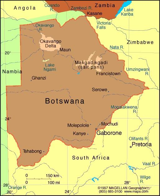 When you think of Botswana what first comes to mind?