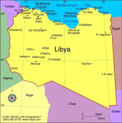 When you think of Libya, what first comes to mind?