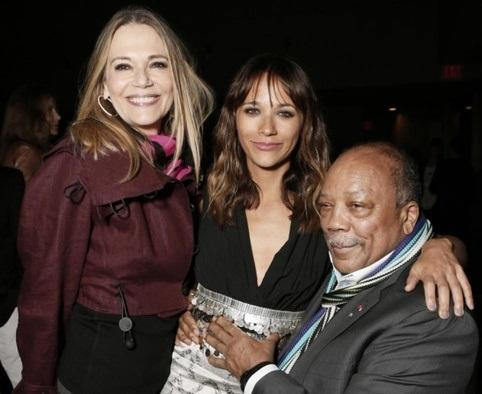 What would life be like in the past for the mixed family of Rashida Jones?