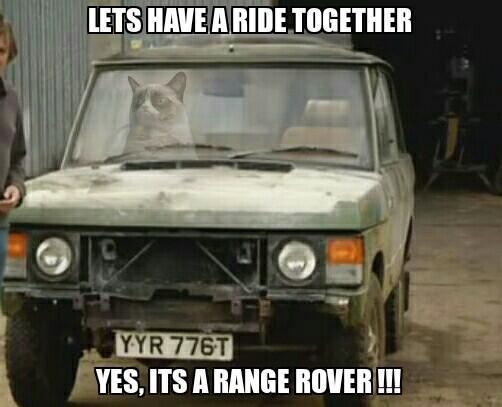 How do I look in my Range Rover?