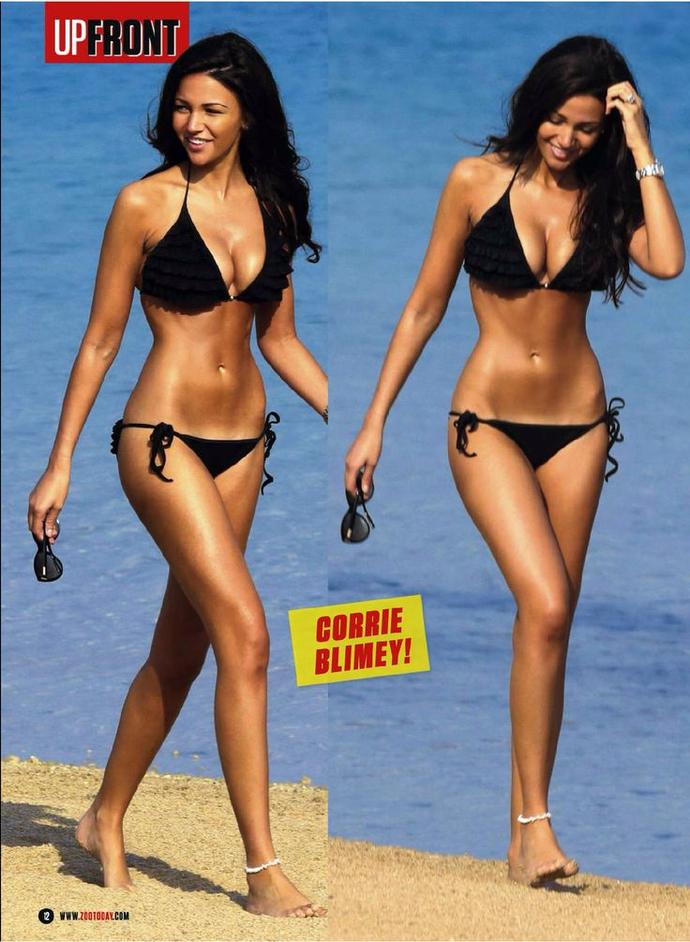 Is this body shape attractive for a women?