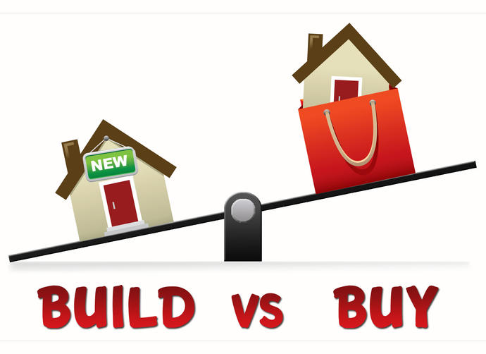 Are you saving up to buy a house or build a house? Realistically, Whats your price range?