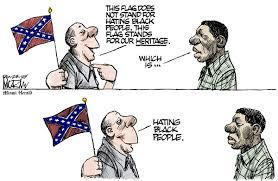 Are you guys against or for taking the confederate flag down?Do you think the flag has anything to do with racism?