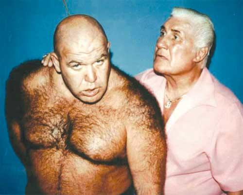 Guys would you accept $1000000 in order to look as hairy as George Steele?