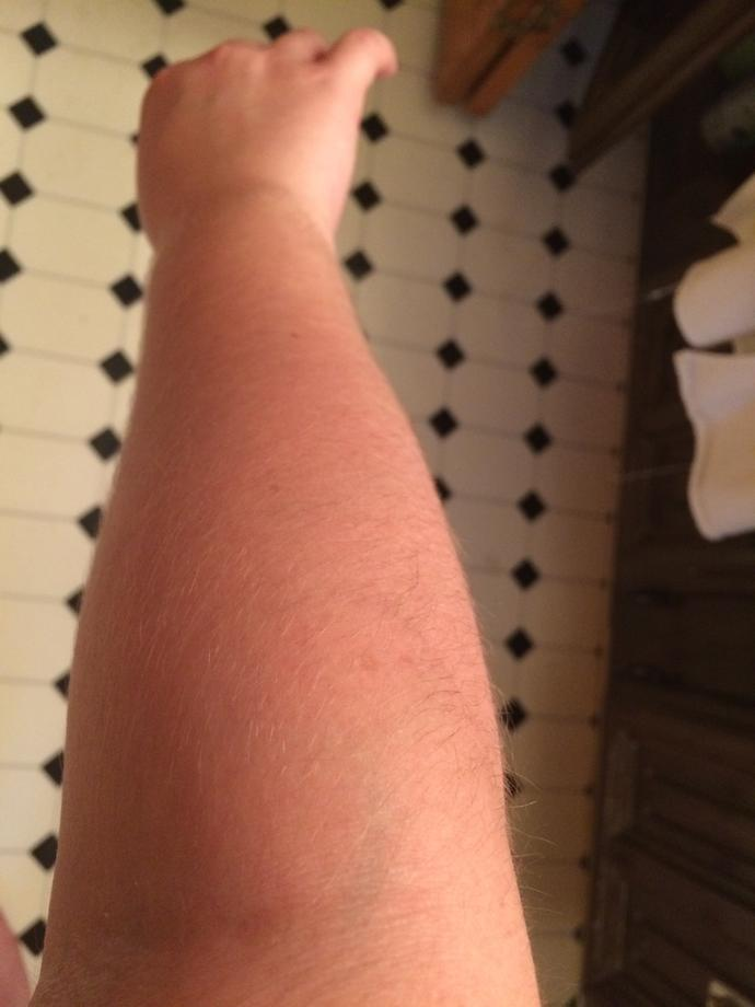 Would it be weird to shave my arms?