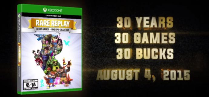 For those GAG users who are Xbox One owners or at least video gamers, are you looking forward to the upcoming $30 collection game, Rare Replay?