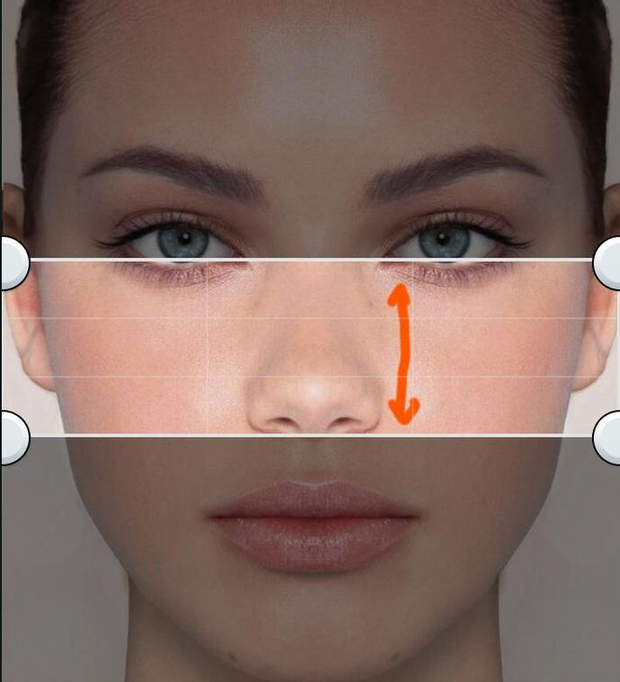 Girls, What is your middle face lenght? Help?