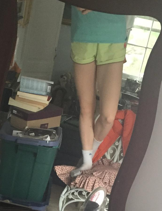 Guys, what do you think of my legs?