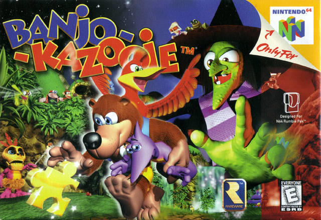 Anyone of you GAGers grew up playing these type of video games(made by Rareware/Rare Ltd.) on the Nintendo 64 back in the days?