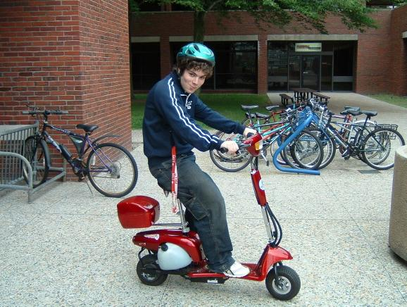 How do you like my MOPED? Can someone explain to me why MOPED is a thing?