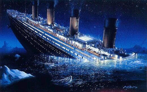 How scared would you be if you where a third class passenger on the Titanic?